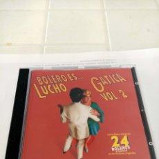 CDs de Música: LUCHO GATICA BOLERO ES. Lote 210744024