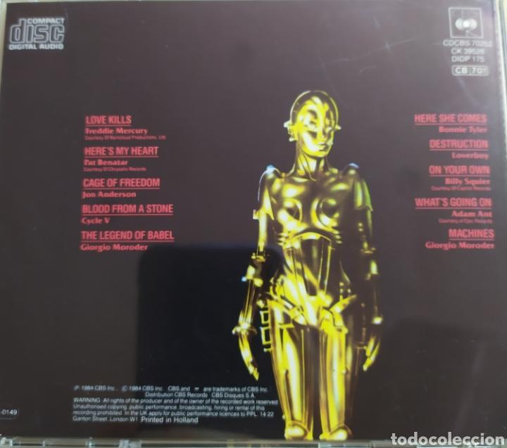 CDs de Música: Metrópolis / Original Motion Picture Soundtrack - Foto 2 - 210744999