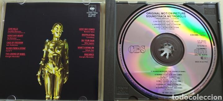CDs de Música: Metrópolis / Original Motion Picture Soundtrack - Foto 3 - 210744999