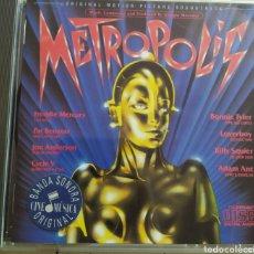 CDs de Música: METRÓPOLIS / ORIGINAL MOTION PICTURE SOUNDTRACK. Lote 210744999