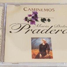 CDs de Música: MARÍA DOLORES PRADERA / CAMINEMOS / CD - RBA-2001 / 13 TEMAS / DE LUJO... Lote 210757975