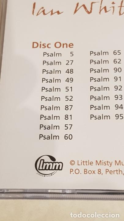 CDs de Música: IAN WHITE / PSALMS 4,5,6 / DOBLE CD - LMM - 1999-UK / 32 TEMAS / DE LUJO. - Foto 5 - 210758824
