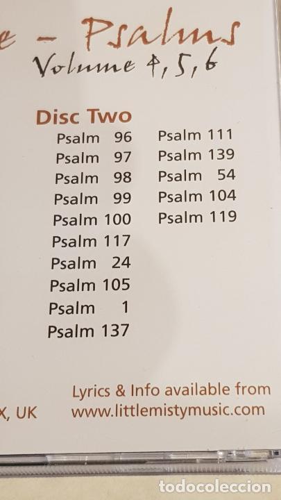CDs de Música: IAN WHITE / PSALMS 4,5,6 / DOBLE CD - LMM - 1999-UK / 32 TEMAS / DE LUJO. - Foto 6 - 210758824