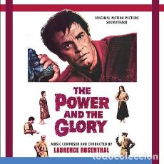 CDs de Música: EL PODER Y LA GLORIA - THE POWER AND THE GLORY COMPOSITOR: LAURENCE ROSENTHAL. Lote 210773596