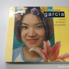 CDs de Música: 0720- MANOLO GARCIA NUNCA EL TIEMPO ES PERDIDO CD (DISCO ESTADO NORMAL) LIQUIDACIÓN. Lote 210776732