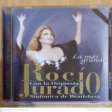 CDs de Música: ROCIO JURADO CON LA ORQUESTA SINFONICA DE BRATISLAVA (LA MAS GRANDE) CD 2001. Lote 210777487