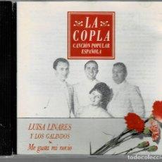 CDs de Música: LUISA LINARES Y LOS GALINDOS - ME GUSTA MI NOVIO / CD DE 1992 RF-5472, BUEN ESTADO. Lote 210779095