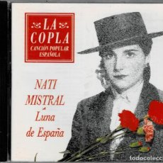 CDs de Música: NATI MISTRAL - LUNA DE ESPAÑA / CD DE 1992 RF-5476 , BUEN ESTADO. Lote 210779160