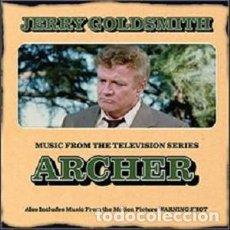 CDs de Música: ARCHER / HOMICIDIO JUSTIFICADO - WARNING SHOT COMPOSITOR: JERRY GOLDSMITH. Lote 210779900