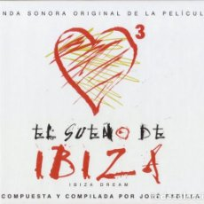 CDs de Música: JOSÉ PADILLA - EL SUEÑO DE IBIZA (IBIZA DREAM) - CD, BOOK (15 TEMAS) - 2002. Lote 210784791