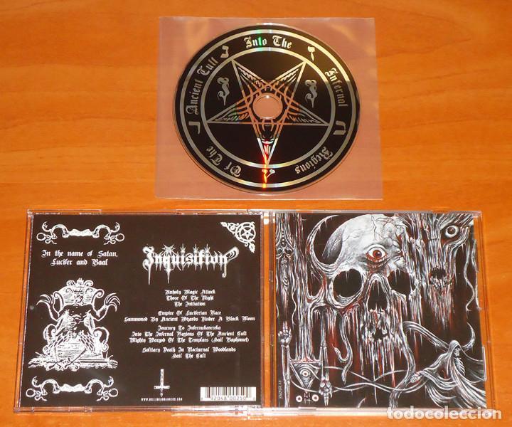 INQUISITION - INTO THE INFERNAL REGIONS OF THE ANCIENT CULT - CD [HELLS HEADBANGERS, 2010] (Música - CD's Heavy Metal)