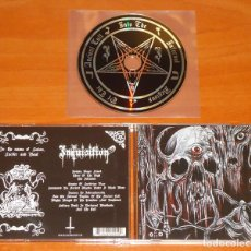 CDs de Música: INQUISITION - INTO THE INFERNAL REGIONS OF THE ANCIENT CULT - CD [HELLS HEADBANGERS, 2010]. Lote 107021659