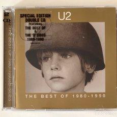 CDs de Música: CD U2 - THE BEST OF 1980-1990 (EDICIÓN ESPECIAL CON 2 CD). Lote 210793794