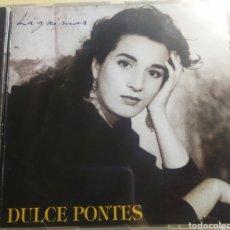 CDs de Música: DULCE PONTES / LÁGRIMAS / CD ORIGINAL. Lote 210807089