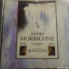 CDs de Música: THE MISSION B. S. O / DE ENNIO MORRICONE / CD ORIGINAL. Lote 210807181
