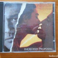 CDs de Música: CD INDECENT PROPOSAL - ORIGINAL MOTION PICTURE SOUNDTRACK (6I). Lote 210810621