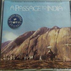 CDs de Música: A PASSAGE TO INDIA / BANDA SONORA ORIGINAL / CD ORIGINAL. Lote 210811189