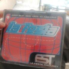 CDs de Música: 3 CD LA FESTA IDEOLOGY / JORDY BEAT - DANY KAOS - DJ JUAN CRUZ. Lote 210816920