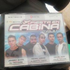 CDs de Música: FIESTA EN CABINA VOL. 2 / SISTEMA 3 / FRAKTAL / EXTR3S. Lote 210817900