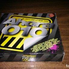 CDs de Música: AHORA 010 - EL DISCO QUE LO TIENE TODO (3CD. Lote 210818036