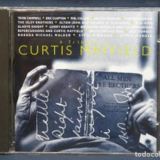 CDs de Música: VARIOS ‎– A TRIBUTE TO CURTIS MAYFIELD - CD. Lote 210829631