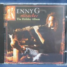 CDs de Música: KENNY G - MIRACLES - THE HOLIDAY ALBUM - CD. Lote 210831279