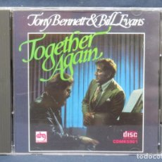CDs de Música: TONY BENNETT & BILL EVANS - TOGETHER AGAIN - CD. Lote 210832102