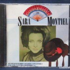 CDs de Música: SARA MONTIEL - ANTOLOGIA DE LA CANCION ESPAÑOLA 20 - CD. Lote 210835422