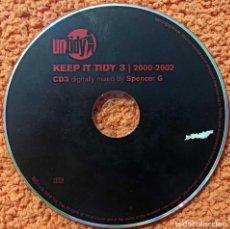CDs de Música: CD MÚSICA KEEP IT TIDY 3 -2000 - 2002 - ORIGINAL. Lote 210932881