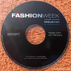 CDs de Música: CD MÚSICA FASHION WEEK, CATWALD SOUNDS - 2002/3- ORIGINAL. Lote 210934089