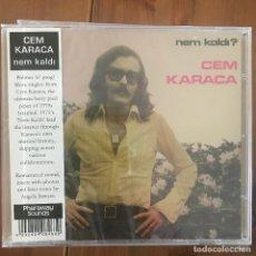 CDs de Música: CEM KARACA - NEM KALDI? (1975) - CD PHARAWAY SOUNDS 2014 NUEVO. Lote 210934275