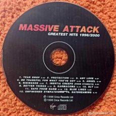 CDs de Música: CD MÚSICA MASSIVE ATTACK GREATEST HISTS 1996/2000 ORIGINAL. Lote 210934359