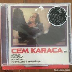 CDs de Música: CEM KARACA - 'NIN APASLAR, KARDASLAR, MOGOLLAR... (1974) - CD PHARAWAY SOUNDS 2013 MINT NUEVO. Lote 210934665