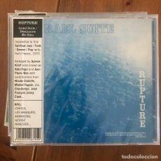 CDs de Música: RUPTURE - ISRAEL SUITE / DOMINANTE EN BLEU (1973) - CD SOMMOR 2017 NUEVO. Lote 210935172