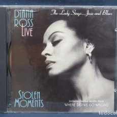 CDs de Música: DIANA ROSS LIVE - STOLEN MOMENTS - CD. Lote 210938652