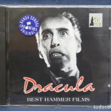 CDs de Música: DRACULA - BEST HAMMER FILMS - CD. Lote 210939241