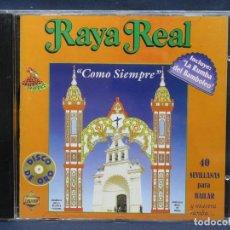 CDs de Música: RAYA REAL - COMO SIEMPRE - CD. Lote 210939960