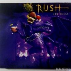 CDs de Música: RUSH - RUSH IN RIO - TRIPLE CD 3XCD 2003 - ATLANTIC. Lote 210940530