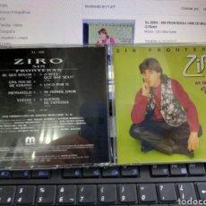 CDs de Música: ZIRO CD SIN FRONTERAS 1996. Lote 210945055
