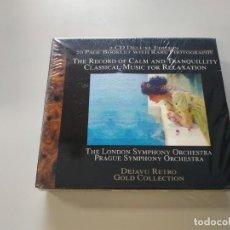 CDs de Música: 0720- THE RECORD CALM TRANQUILLITY CLASSICAL MUSIC RELAXATION 2CD NUEVO !PRECINTADO LIQUIDACIÓN. Lote 210954661