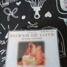 CDs de Música: THE POWER OF LOVE.. 64 CLASSIC LOVE SONGS. Lote 210963687