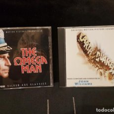 CDs de Música: LOTE DE 2 CD BSO - EARTHQUAKE (JOHN WILLIAMS) - THE OMEGA MAN (RON GRAINER) LIMITED 3000 COPIES.. Lote 210967659