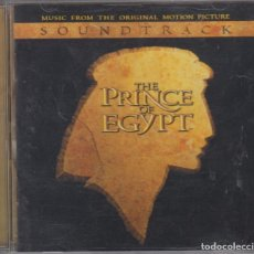 CDs de Música: THE PRINCE OF EGYPT CD BANDA SONORA DE LA PELÍCULA 1998. Lote 210978884