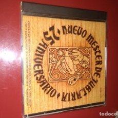CDs de Música: .NUEVO MESTER DE JUGLARÍA 25 ANIVERSARIO C.D ,. Lote 210980822