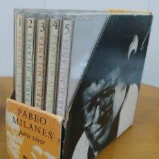 CDs de Música: PABLO MILANÉS. PRECIOSO PACK DE 5 CDS. TITULADO: PARA VIVIR.. Lote 210983140