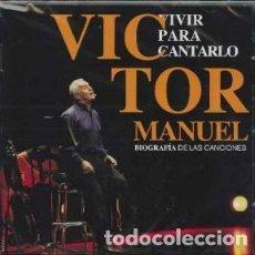 CDs de Música: VIVIR PARA CONTARLO: BIOGRA... - VICTOR MANUEL - 2 CD. Lote 210997759