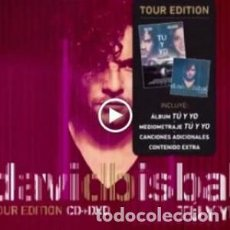 CDs de Música: TÚ Y YO (TOUR EDITION) - DAVID BISBAL - 1 CD + 1 DVD. Lote 211005907