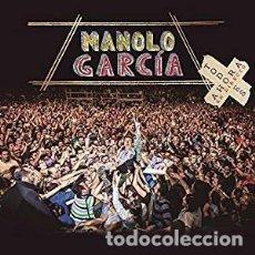 CDs de Música: TODO ES AHORA (EN DIRECTO) ... - MANOLO GARCÍA - 2 CD + 1 DVD. Lote 211008841