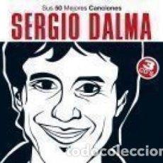 CDs de Música: SUS 50 MEJORES CANCIONES - SERGIO DALMA - 3 CD. Lote 211041067