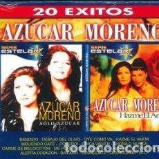 CDs de Música: SÓLO AZÚCAR + HAZME EL AMOR - AZUCAR MORENO - 2 CD. Lote 211051847